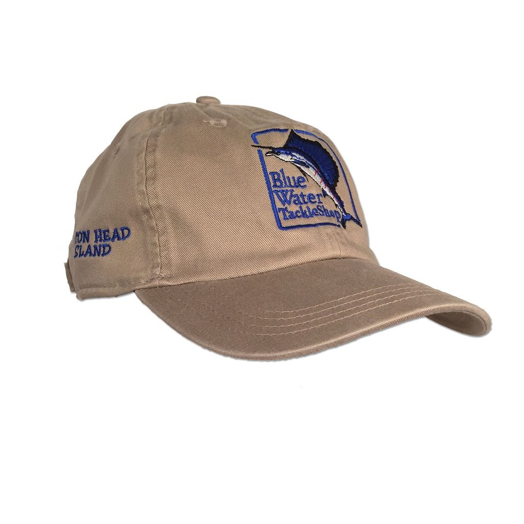 AHead Blue Water Classic Fit Hat in Khaki