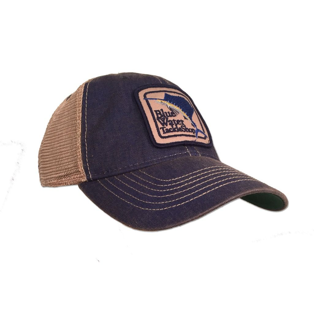 3ec92b2572e Legacy Blue Water Old Favorite Trucker in Blue - The Salty Dog Inc