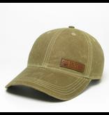 Hat Wax Cotton Hat in Dark Tan