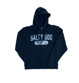 Sweatshirt Hooded Full Zip in Navy