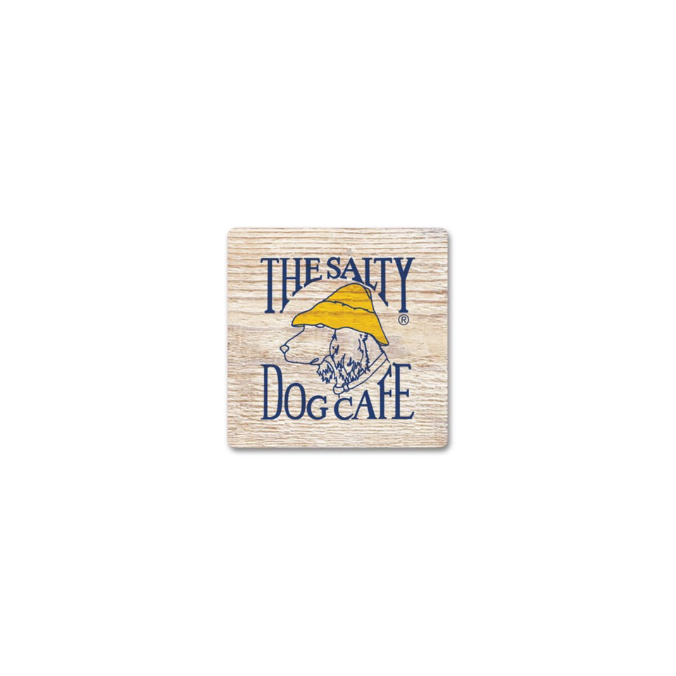 Product Salty Dog Wood Magnet