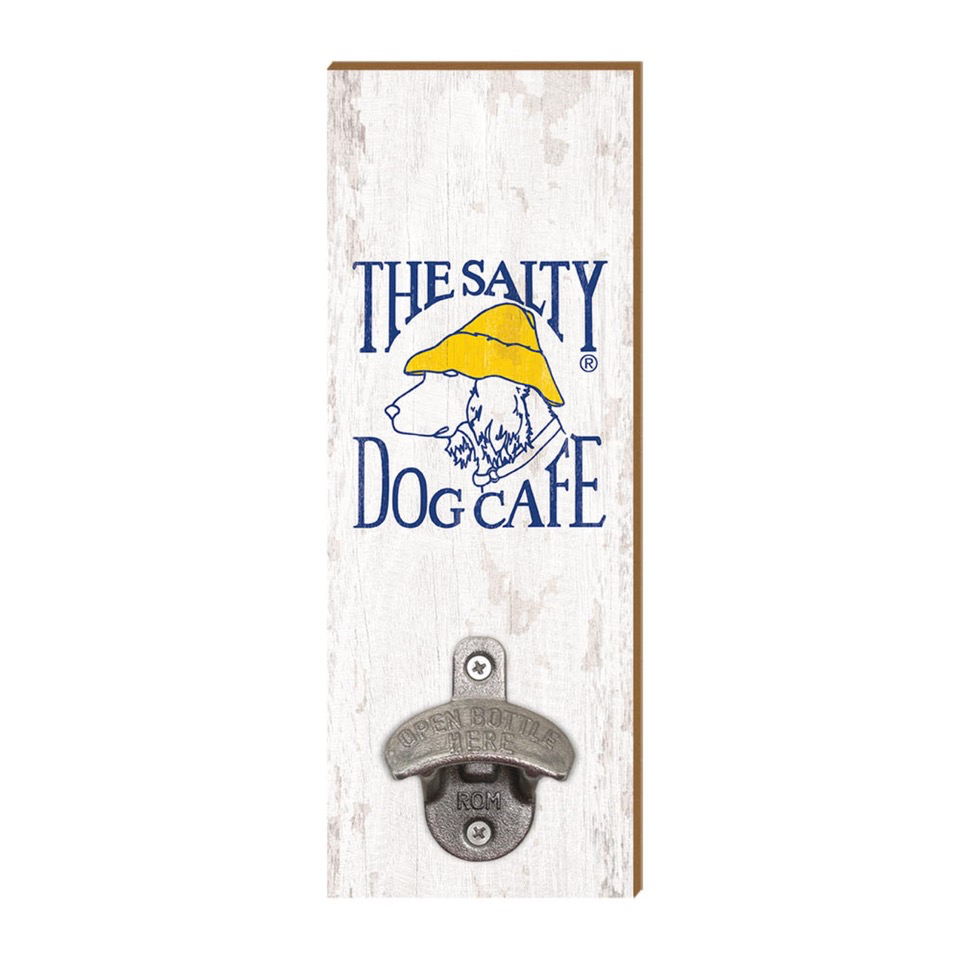 Specialty Items Salty Dog Bottle Opener Sign
