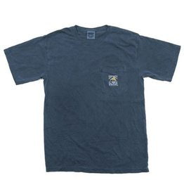 Comfort Colors Comfort Colors® Short Sleeve Pocket Tee in Navy