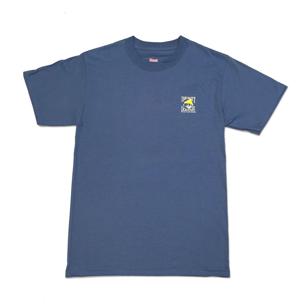 Hanes Hanes Beefy Short Sleeve in Denim