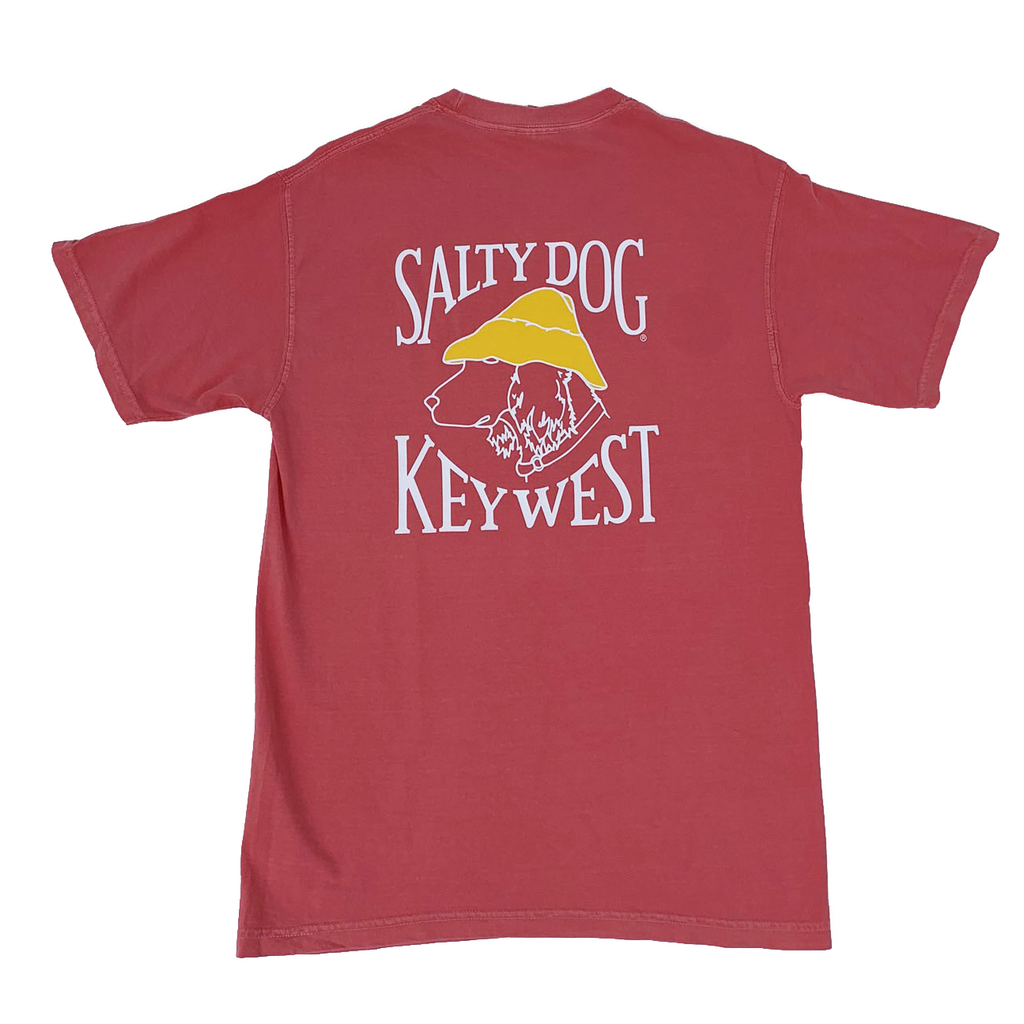 T-Shirt Key West Comfort Colors Short Sleeve in Watermelon
