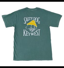T-Shirt Key West Comfort Colors Short Sleeve in Light Green