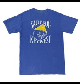 T-Shirt Key West Comfort Colors Short Sleeve in Flo Blue