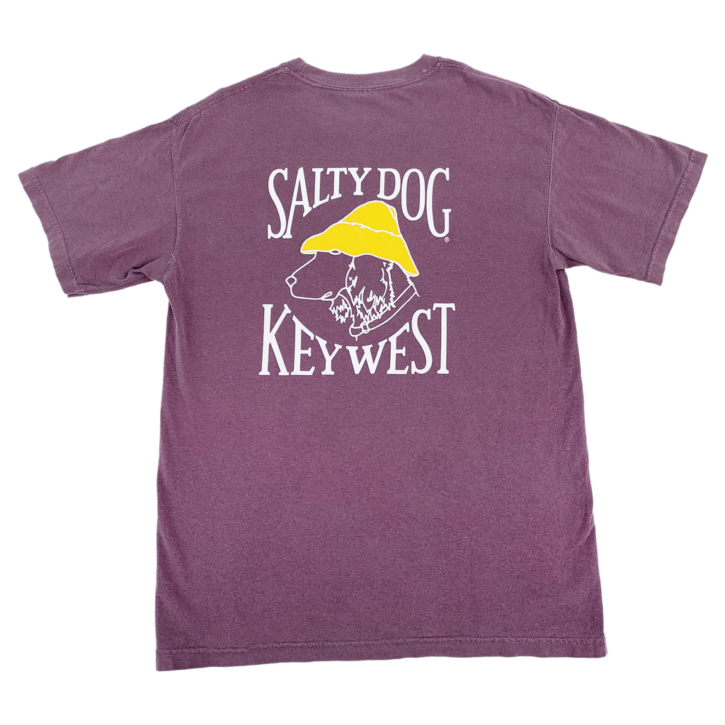 T-Shirt Key West Comfort Colors Short Sleeve in Berry
