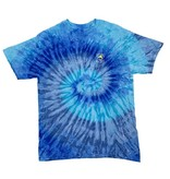 T-Shirt Key West Tie Dye in Blue Jerry