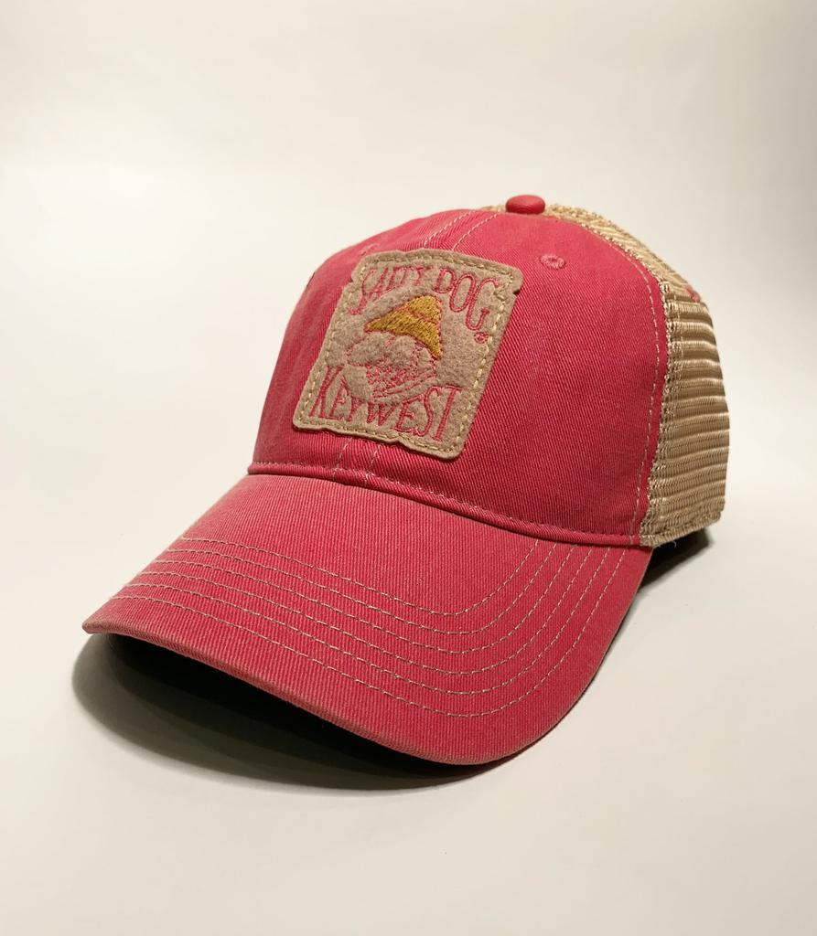Hat Key West Old Favorite Trucker Hat in Pink