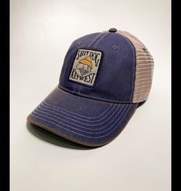 Hat Key West Old Favorite Trucker Hat in Navy