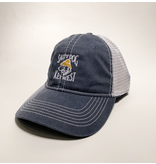 Hat Key West Pigment Dyed Mesh Hat in Navy