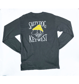 T-Shirt Key West Comfort Colors Long Sleeve in Pepper