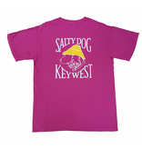 T-Shirt Key West Comfort Colors Short Sleeve in Raspberry