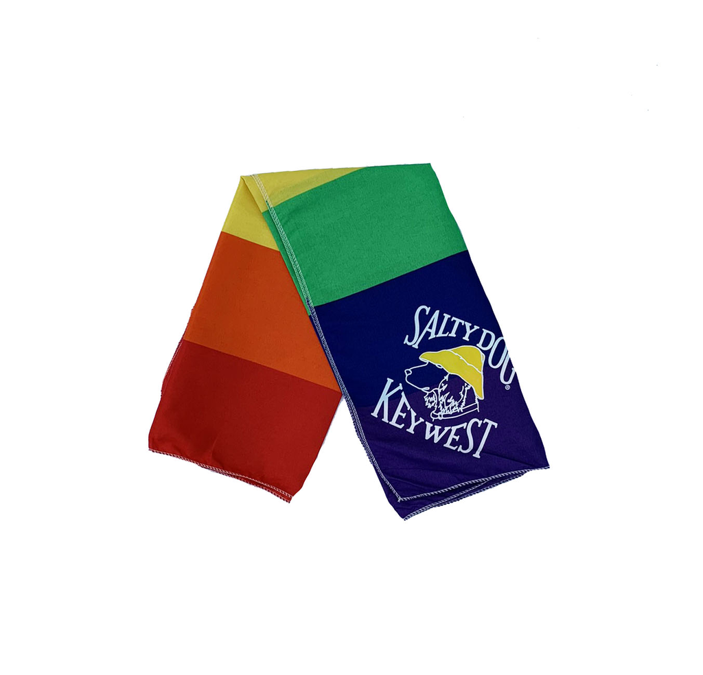 T-Shirt Key West Rainbow Large Bandana