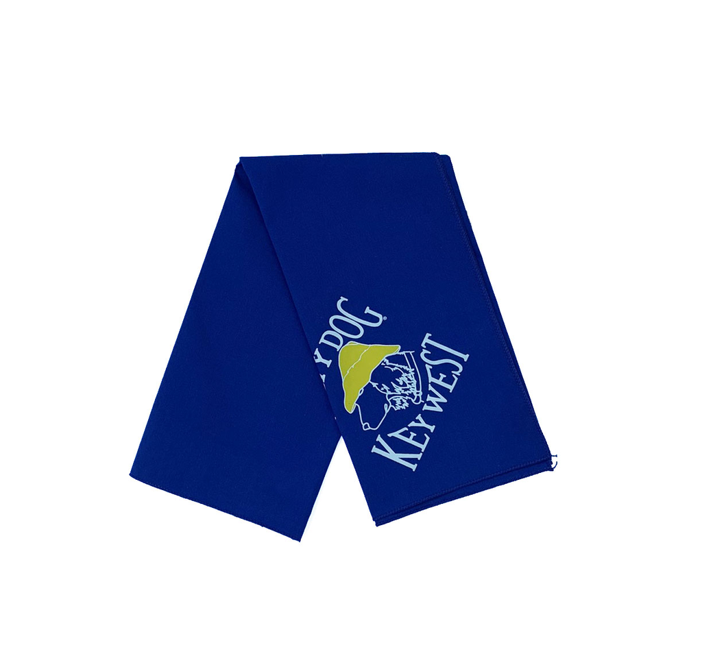T-Shirt Key West Royal Large Bandana