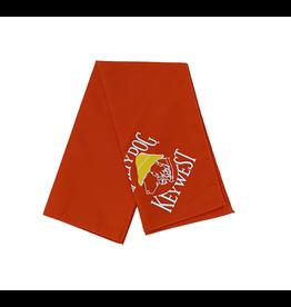 T-Shirt Key West Orange Large Bandana