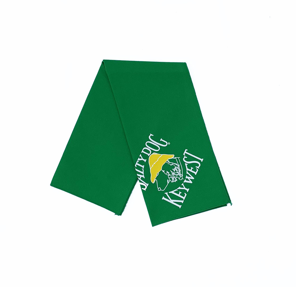 T-Shirt Key West Kelly Green Large Bandana