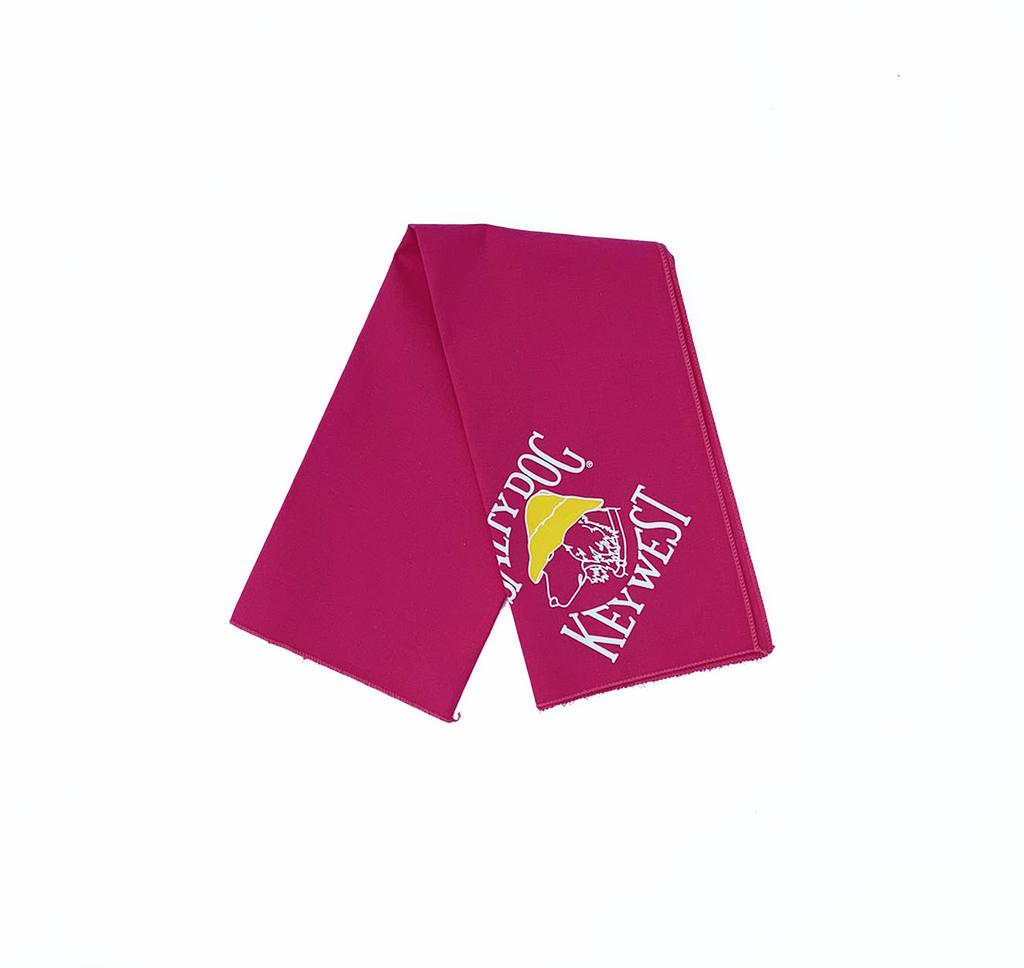 T-Shirt Key West Hot Pink Large Bandana