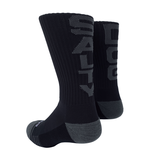 Footwear Socks in Black/Grey