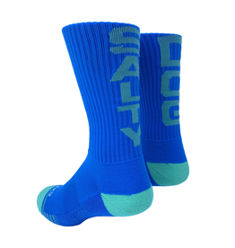 Footwear Socks in Blue/Mint