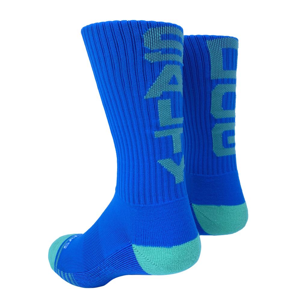 Footwear Socks in Blue/Mint