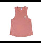 T-Shirt Women's Muscle Tank in Rosebud