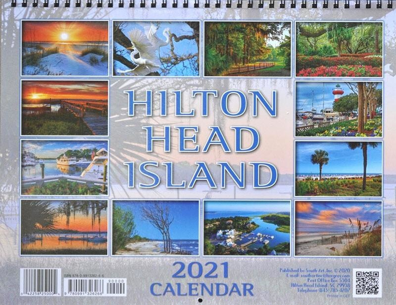 South Art Hilton Head Island Calendar