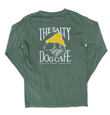 T-Shirt Bohicket Comfort Colors Long Sleeve in Light Green