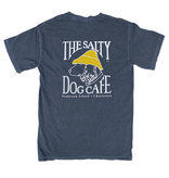 T-Shirt Bohicket Comfort Colors Short Sleeve in Navy