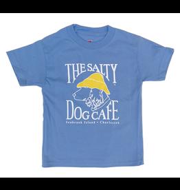 T-Shirt Bohicket Youth Hanes Beefy Short Sleeve in Carolina Blue