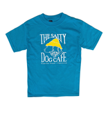 T-Shirt Bohicket Youth Hanes Beefy Short Sleeve in Teal