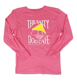 T-Shirt Bohicket Youth Long Sleeve in Hot Pink
