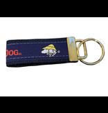 Product Key Chain Nylon FOB in Navy