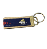 Product Key Chain Nylon FOB in Buff