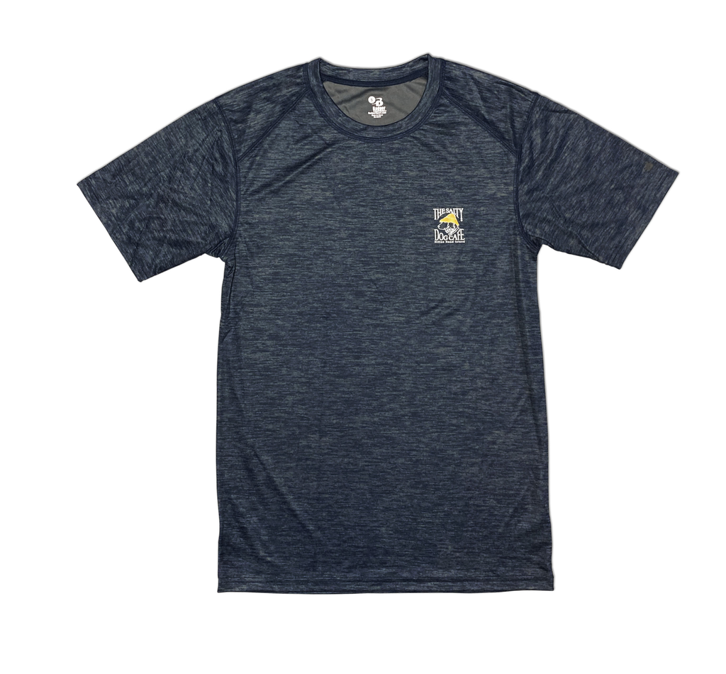 T-Shirt Performance Short Sleeve in Navy