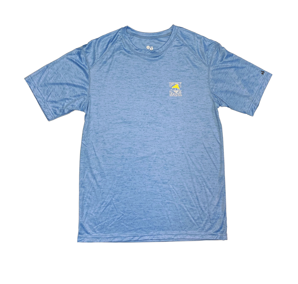 T-Shirt Performance Short Sleeve in Carolina Blue