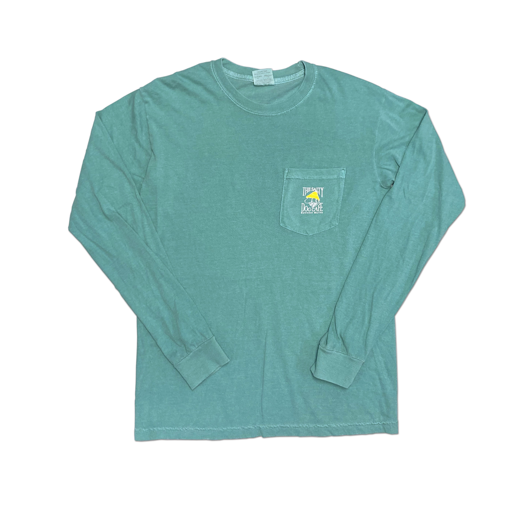 Comfort Colors Bohicket Comfort Colors Long Sleeve Pocket in Seafoam