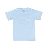 T-Shirt Bohicket Comfort Colors Short Sleeve Pocket in Chambray