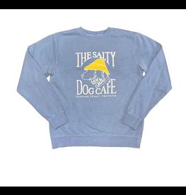 Sweatshirt Bohicket Pigment Dyed Crew Sweatshirt in Light Blue