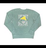 Sweatshirt Bohicket Pigment Dyed Crew Sweatshirt in Mint