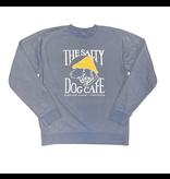 Sweatshirt Bohicket Pigment Dyed Crew Sweatshirt in Slate