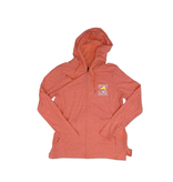 Outerwear Women's Full Zip in Coral Sunrise
