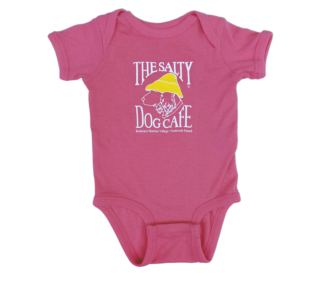 Infant / Toddler Bohicket Infant Romper in Raspberry