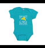 Infant / Toddler Bohicket Infant Romper in Carribean