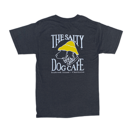 T-Shirt Bohicket Hanes Beefy Short Sleeve in Charcoal Heather