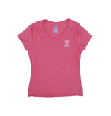 Hanes Bohicket Women's Triblend V-Neck in Jazzberry