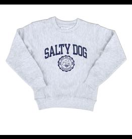 Sweatshirt Bohicket Youth Reverse Weave Sweatshirt in Silver Grey