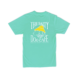 T-Shirt Bohicket Garment Dyed Tee in Turquoise