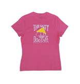 T-Shirt Bohicket Women's Classic Fit Tee in Wow Pink